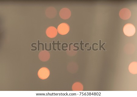 Soft colorful bokeh background. Luminous garlands of electric lights. Copy space to add text. Saturated colors. Blurry abstraction. Gentle tone. Dark night. Festive party in city. Defocus effect. #756384802