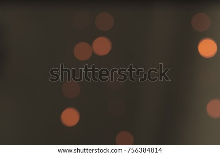 Soft colorful bokeh background. Luminous garlands of electric lights. Copy space to add text. Saturated colors. Blurry abstraction. Gentle tone. Dark night. Festive party in city. Defocus effect. #756384814