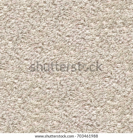 Soft Cotton Fabric Towel Seamless Tileable Texture Background