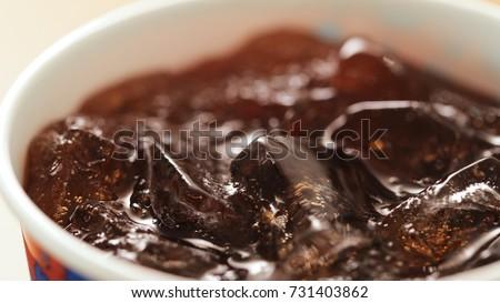 Soft drink coke