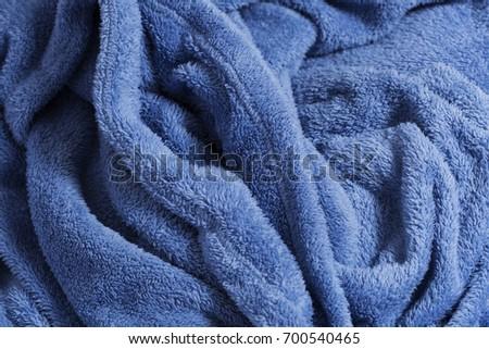 Soft fabric shaped as a female genital organ, vagina