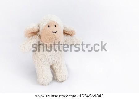 Soft Fluffy Baby Sheep Toy