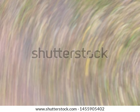 Soft focus is Rotate the camera and take a picture of the grass.