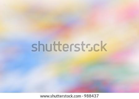 soft focus  pastel background