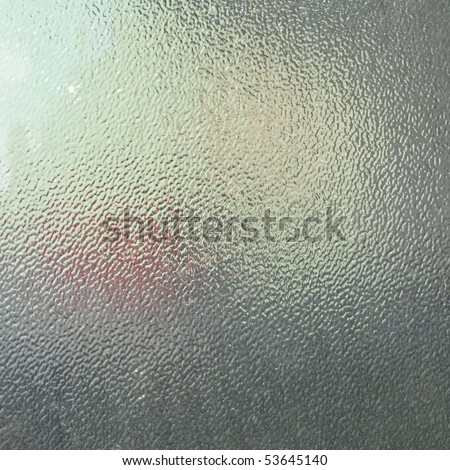 soft glass for texture or background. frosted glass