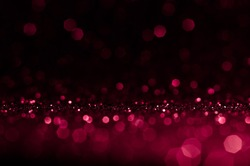 Soft image abstract bokeh red,pink with light background.Red,maroon,black color night light elegance,smooth backdrop or artwork design for new year,Christmas sparkling glittering Women,Valentines day