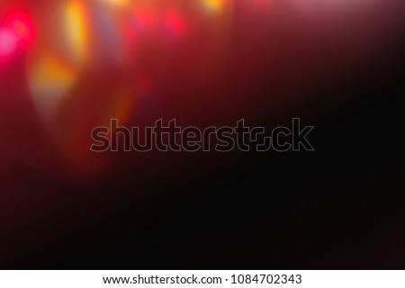 soft light. lens flare. abstract shine. arty simple red black background #1084702343