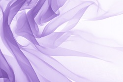 soft purple chiffon with curve and wave