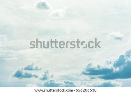 soft sky - Shutterstock ID 656206630
