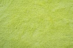 soft smooth light green plush fleece