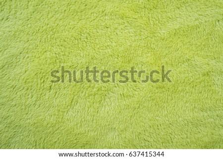 soft smooth light green plush fleece Foto stock ©