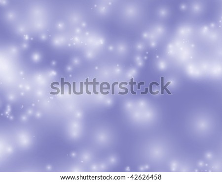 soft starry sky or lights - stock photo