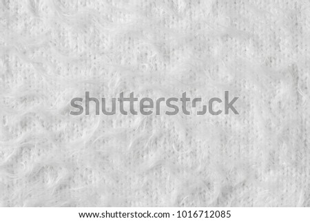soft, white mohair texture background