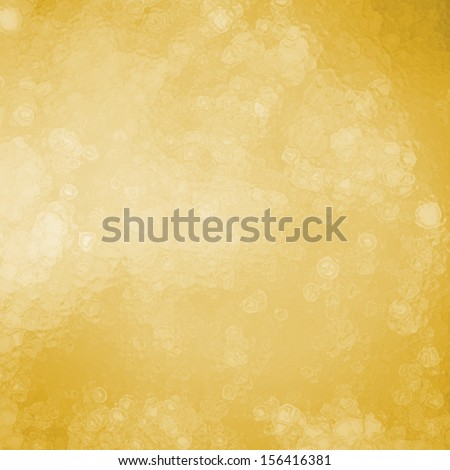 soft yellow gold background with abstract white Christmas tree lights or luxury gold background with bokeh blur lights, rich elegant gold with glassy white bubbles or snowflakes falling concept