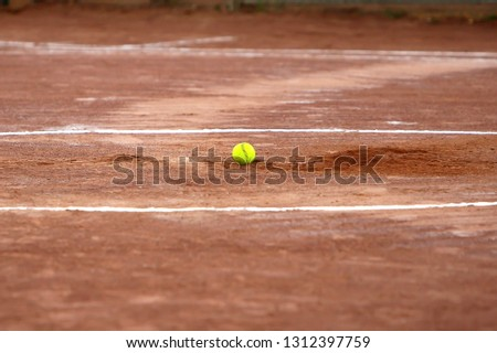 softball on pitchers mound