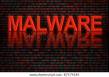 Software program infected by a malware. Conceptual indicator of software code that has been infected by malware.