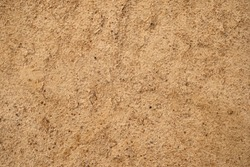 Soil brown ground into the dry season, Drought clay texture, Natural background