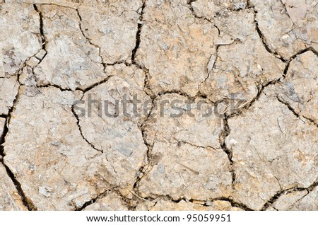 Soil for background. - stock photo