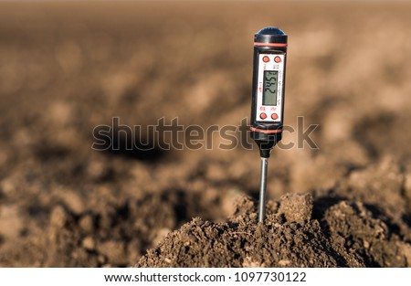 Soil meter for measured  PH, temperature and moisture at field #1097730122