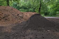 Soil mud land earth dirt heap pile