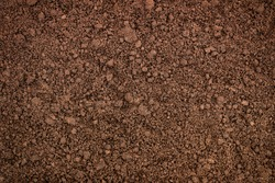soil texture closeup, ground surface as background