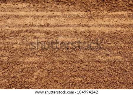 Soil texture layers for natural background stock photo