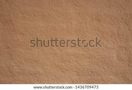 Soil wall texture of clay house structure.