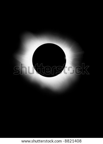 Solar Eclipse is beautiful. Moon is between you and sun.