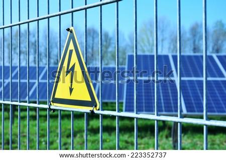 solar energy, green electricity, solar field