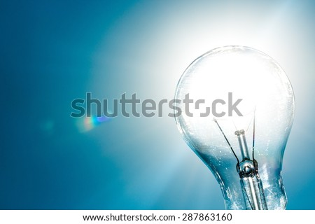Solar Energy, Light Bulb, Solution.