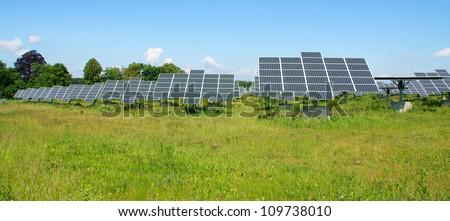 solar panel / solar field