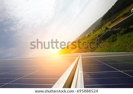 Solar panels #695888524