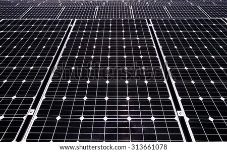 Solar Panels For Renewable Electrical Energy Production