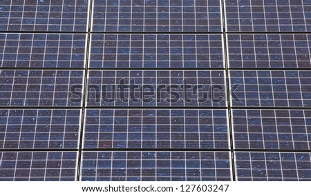Solar panels - full frame for background