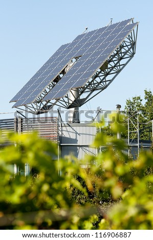 Solar Panels That Automatically Turns To The Sun