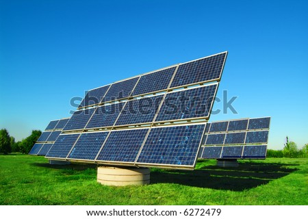 solar power plant - more images of solar cells in my portfolio