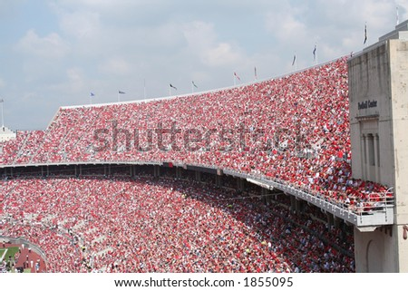 sold out game stock photo