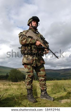 Soldier - stock photo