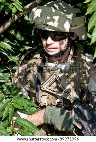 soldier n the jungle