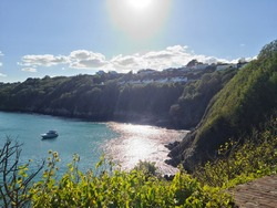 Soldiers Bay, Guernsey Channel Islands