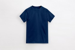 Solid Basic T-Shirt deep navy Man unbranded