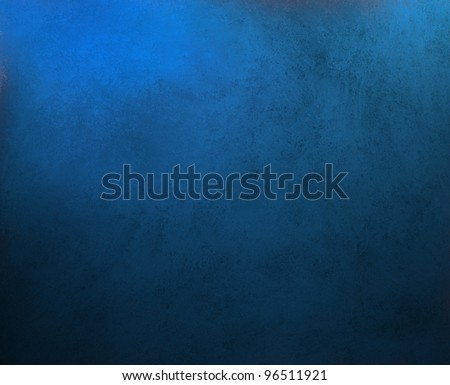 solid blue background abstract distressed antique dark background texture and grunge black edges on elegant wallpaper design, fancy painted background ad material with light blue backdrop color layout
