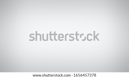 Solid studio gradient with degradation of one Anti Flash White or Light Gray color. Classy and simple background with evenly filled shade and darkening at the edges. Stockfoto ©