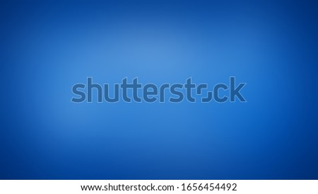 Solid studio gradient with degradation of one Bright Navy Blue color. Classy and simple background with evenly filled shade and darkening at the edges. Stockfoto ©
