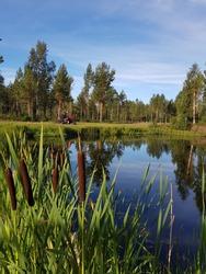 sollerö golfcourse in mora sweden