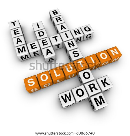 solution crossword (cubes crossword series)