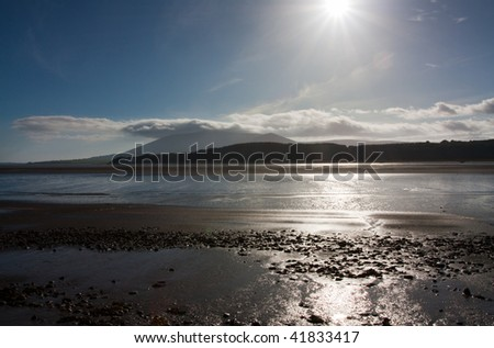 Solway Firth, Dumfries and Galloway,South West Coast, Scotland.