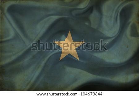 Somalia waving flag