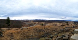 Somber Panoramic on the Battlefield