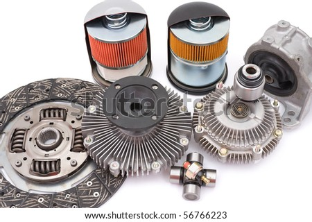 some different auto spare parts for motor cars